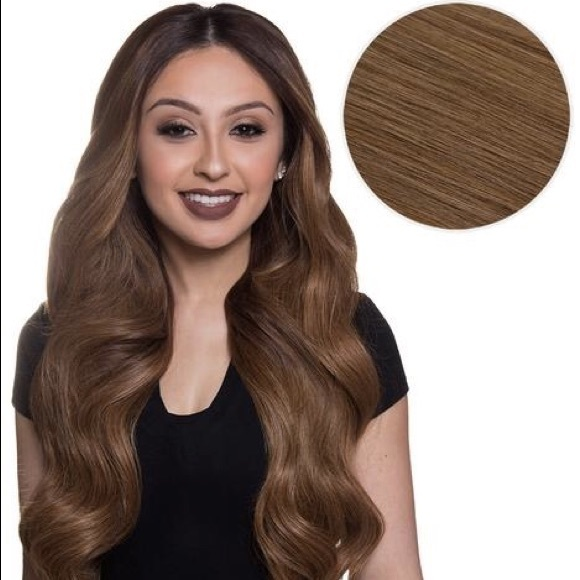 "Bellami Accessories - Bambina 160G 20"" Chestnut Brown Hair Extensions  6 537b0b2dbf"